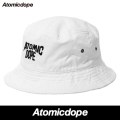 【Atomic Dope City】 Backet Hat White バケットハット 帽子 白 アトミックドープ