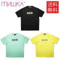 【送料無料】MISHKA DAMAGE BOXLOGO KEEP WATCH Tシャツ 半袖 T-SHIRTS M21000007 ミシカ