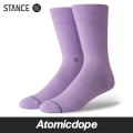 STANCE FASHION ICON ソックス 靴下 紫 SOCKS Violet Purple スタンス 25.5-29.0cm