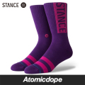 STANCE OG ソックス 靴下 紫 SOCKS Purple 25.5-29.0cm