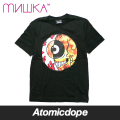 【送料無料】【MISHKA】CYCO SPLIT KEEP WATCH Tシャツ 半袖 黒 T-SHIRTS Black ミシカ