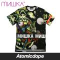 【送料無料】【MISHKA】ALL OVER LAMOUR ENDLESS BUMMER Tシャツ 半袖 黒 TEE Black ミシカ