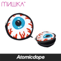 MISHKA ALL OVER KEEP WATCH ポーチ 黒 目玉 総柄 POUCH Black ミシカ