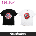 【送料無料】【MISHKA】PATRIOT LAMOUR KEEP WATCH Tシャツ 半袖 黒 白 TEE Black White ミシカ