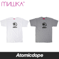 MISHKA Fanzine Keep Watch Tシャツ 半袖 白 灰 TEE White Grey ミシカ