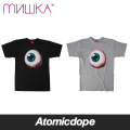 【MISHKA】Hyper Real Keep Watch Tシャツ 半袖 黒 灰 TEE Black Grey ミシカ