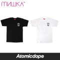 【MISHKA】Restore the Power Tシャツ 半袖 黒 白 TEE Black White ミシカ