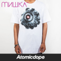 【送料無料】【MISHKA】Mecha Keep Watch T-Shirt White Tシャツ 白 ミシカ