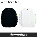 【AFFECTER】NOT EVERYTHING ロンT ロングスリーブ Tシャツ 長袖 黒 白 L/S Tee Black White アフェクター