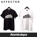 【AFFECTER】A-Long Tee Black White Tシャツ モノトーン 半袖 黒 白 アフェクター