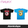 【送料無料】【MISHKA】Lamour Keep Watch T-Shirt Black Turquoise Tシャツ 半袖 黒 水色 ミシカ