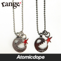 【range】e-star necklace Silver Black ネックレス 銀 黒 レンジ