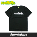 【seedleSs】monotone gradation logo s/s tee Black Tシャツ 半袖 黒 シードレス Lサイズ
