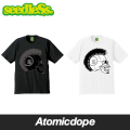 seedleSs MOHICAN SKULL Tシャツ 半袖 黒 白 S/S Tshirts Black White シードレス