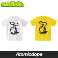 seedleSs tear and paste sprout Tシャツ ホワイト イエロー 長袖 白 黄 LS tee White Yellow シードレス