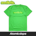 seedleSs COOP REGULAR Tシャツ 半袖 黄緑 S/S TEE Bright Green シードレス