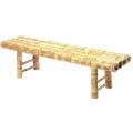 図面角竹縁台 5尺