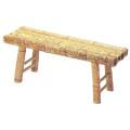 図面角竹縁台 3.3尺