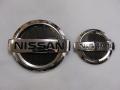 NISSAN MG22S MOCO専用フロント&リヤエンブレム カーボンフィニッシャーセット