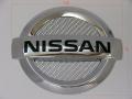 NISSAN E51エルグランド専用リヤエンブレムシルバーカーボンフィニッシャー