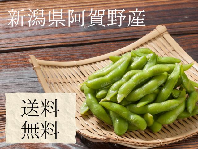 新潟県阿賀野産枝豆1キロ2289円で送料無料