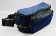 ブッシュウォーカー(BUSHWALKER) トレーナーズバッグ SMALL BELT BAG(青) W230 x D95 x H115