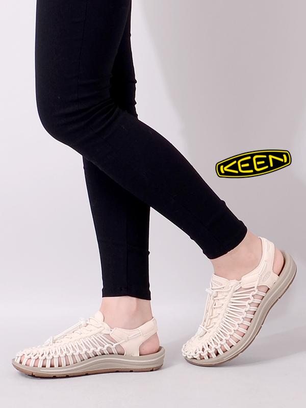 KEEN,キーン,サンダル,レディース,おしゃれ,かわいい,ブランド,ぺたんこ,おしゃれ,ユニーク,UNEEK,スポーツサンダル,スニーカー,1018698