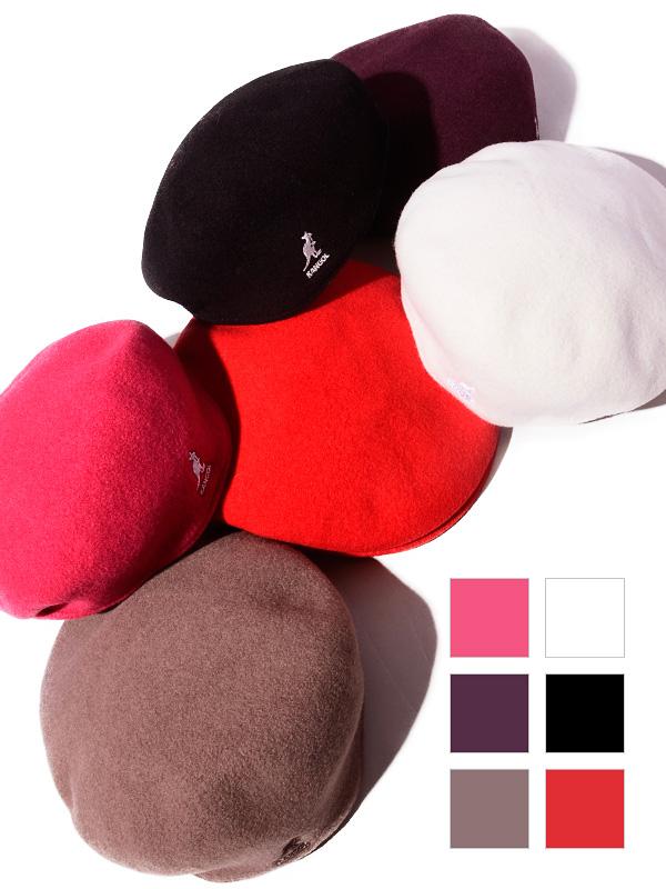 KANGOL,カンゴール,ハンチング,ウール,帽子,ベレー帽,WOLL,504,定番,BACK,TO,FRONT,0258BC,187-169001