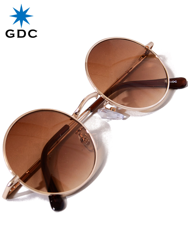 GDC,サングラス,メンズ,レディース,ユニセックス,ブランド,おしゃれ,かわいい,丸,薄い,色,ブラウン,丸メガネ,WANDERLUST,GGDC,33030-BRN