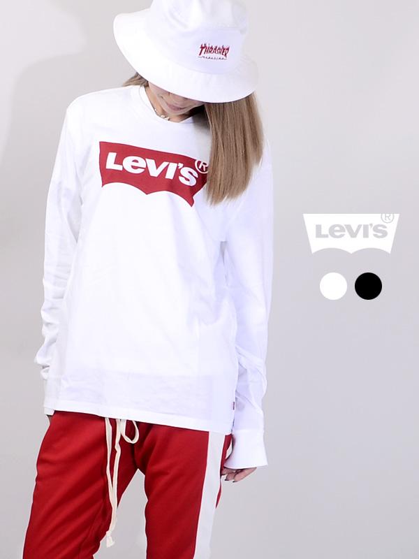 LEVI'S,リーバイス,Tシャツ,レディース,メンズ,長袖,バットウイング,ステッチ,LEVIS,Levi's,ロンT,ペアルック,36015-0010,36015-0013