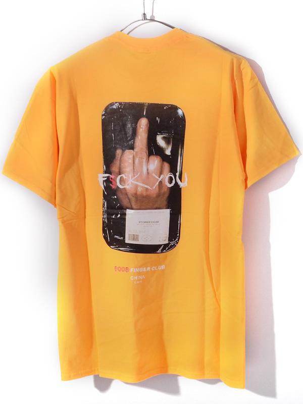 FOUR,FINGER,CLUB,フォーフィンガークラブ,4,FINGER,CLUB,Tシャツ,半袖,5-4FINGER,指,F$CK,YOU,ストリート,5-4FINGER-Y
