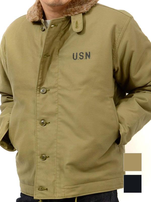 HOUSTON,ヒューストン,ジャケット,デッキジャケット,N-1,メンズ,レディース,日本製,ブランド,アウター,ミリタリー,海軍,ジャンパー,5N-1