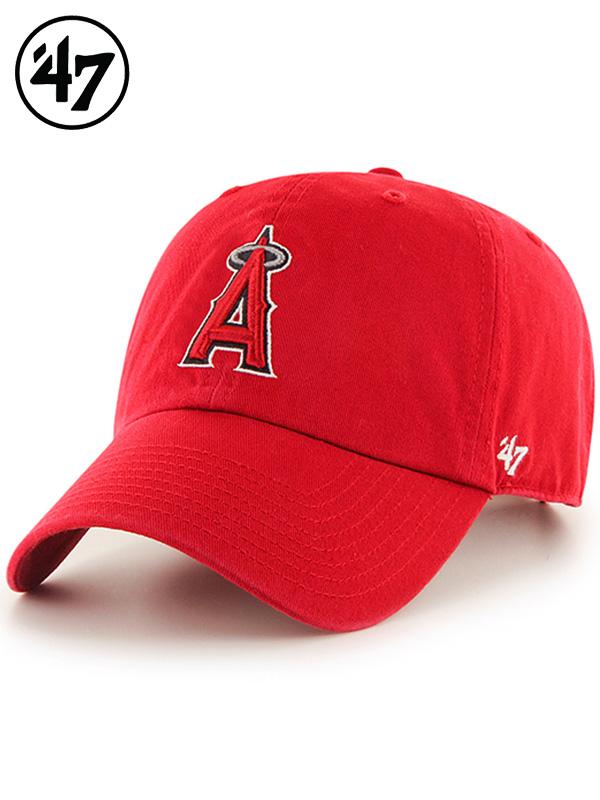 47Brand,フォーティセブン,キャップ,メンズ,レディース,Angels,47,CLEAN,UP,Red,エンゼルス,クリーンナップ,MLB00912,B-RGW04GWS-HM