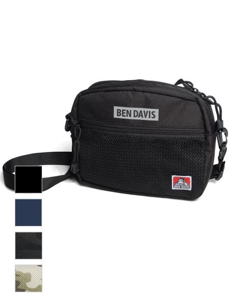 BEN,DAVIS,ベンデイビス,ショルダーバッグ,バッグ,ショルダー,ストラップ,付け替え,サコッシュ,ポーチ,サブバッグ,BDW-9253