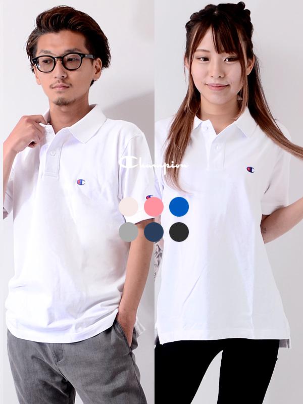 通販,CHAMPION,チャンピオン,ポロシャツ,半袖,日本規格,C3-F356
