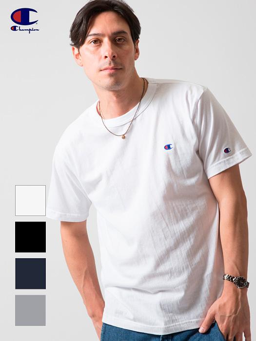 通販,CHAMPION,チャンピオン,Tシャツ,半袖,黒,ロゴ,Cロゴ,部屋着,C3-H359