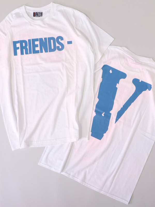 VLONE,ヴィーロン,ヴィーローン,Tシャツ,半袖,フレンズ,FRIENDS,TEE,A$AP,Mob,エイサップモブ,ASAP,FRIENDS-SST-WB