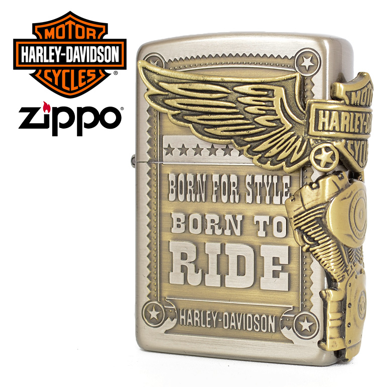 ハーレーダビットソン,ジッポ,zippo,Harley,Davidson,Eagle,エンジン,ウィング,フライング,エンブレム,小物,グッズ,HDP-27