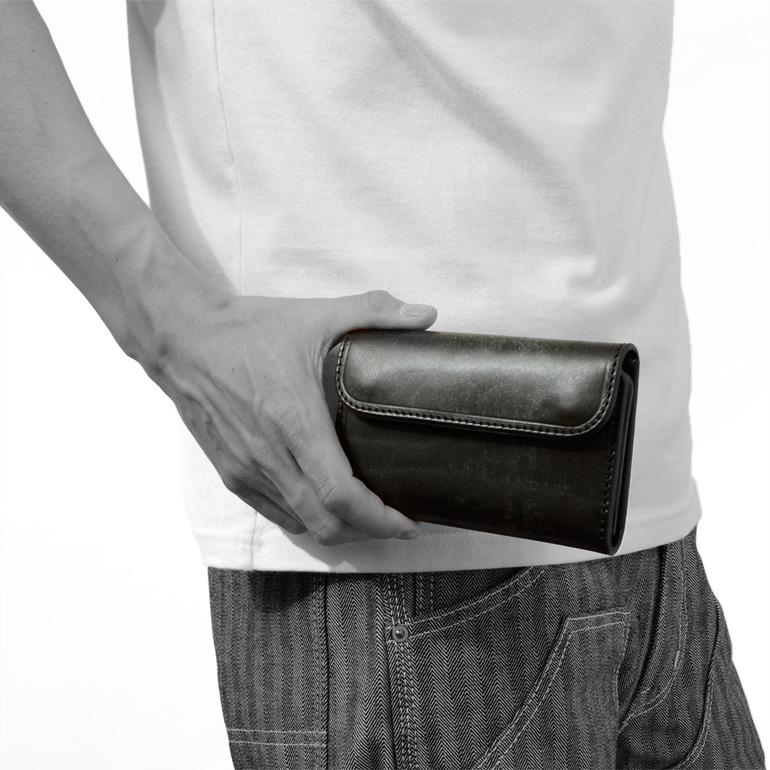 INCEPTION,インセプション,財布,メンズ,ミドル,ウォレット,レザー,革,UKサドル,IPW-08