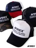 AVIREX,アビレックス,キャップ,メッシュキャップ,メンズ,レディース,ユニセックス,ブランド,ロゴ,ナンバリング,ミリタリー,14407300