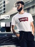 LEVI'S,リーバイス,Tシャツ,レディース,メンズ,ユニセックス,ペア,半袖,ロゴ,ロゴマーク,バットウイング,ステッチ,LEVIS,Levi's,17783