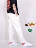 COOKMAN,クックマン,シェフパンツ,chef,pants,メンズ,レディース,Chef's,Frypants,フライパンツ,テフロン加工,白,コックマン,231-01806