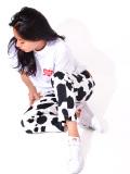 COOKMAN,chef,pants,クックマン,シェフパンツ,メンズ,レディース,綿,おしゃれ,かわいい,Chef,Pants,Cow,牛,カウ,柄,231-11872