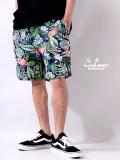COOKMAN,クックマン,シェフパンツ,ショートパンツ,chef,pants,メンズ,レディース,男女兼用,Chef,Short,Pants,Tropical,231-83995