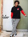 COOKMAN,クックマン,シェフパンツ,chef,pants,メンズ,レディース,男女兼用,Chef,Pants,Wide,Stripe,イージーパンツ,231-91804