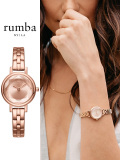 Rumba,Time,ルンバ,タイム,時計,腕時計,レディース,ウォッチ,カジュアル,大人,可愛い,Venice,Bracelet,Rose,Gold,ベニス,27433