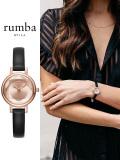 Rumba,Time,ルンバ,タイム,時計,腕時計,レディース,ウォッチ,ブランド,大人,可愛い,Venice,Gem,Leather,ROSE,GOLD,ベニスレザー,27495