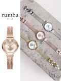 Rumba,Time,ルンバ,タイム,時計,腕時計,レディース,ウォッチ,ブランド,大人,可愛い,Hudson,Gem,Weave,Rose,Gold,ハドソン,ジェム,27518