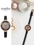 Rumba,Time,ルンバ,タイム,時計,腕時計,レディース,ウォッチ,大人,可愛い,Orchard,Gem,Leather,Black,オーチャード,ジェム,レザー,27532