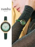 Rumba,Time,ルンバ,タイム,時計,腕時計,レディース,ウォッチ,大人,可愛い,Orchard,Gem,Leather,green,オーチャード,ジェム,レザー,27563